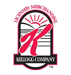 logo design Kellogg company official licensed merchandise